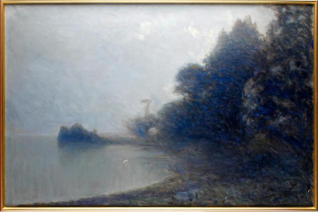 Axel Erik Valerius Fahlcrantz (Swedish, 1851-1925) Landscape