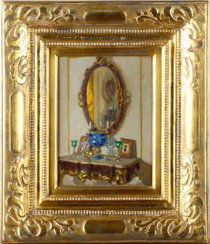 Patrick William Adam, RSA (British, 1854-1929) The drawing room mirror