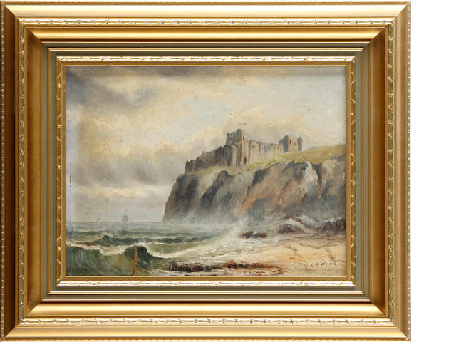 G S Wood, 19th Century Tantallon Castle