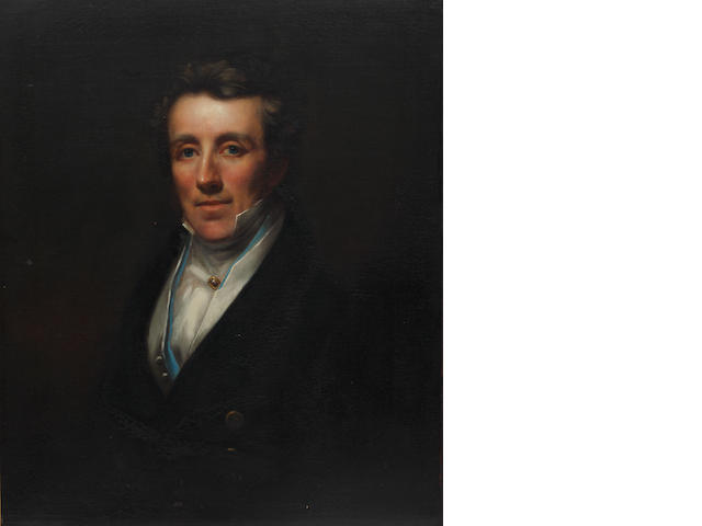 English School, 19th Century  Portrait of Sir William Rawson