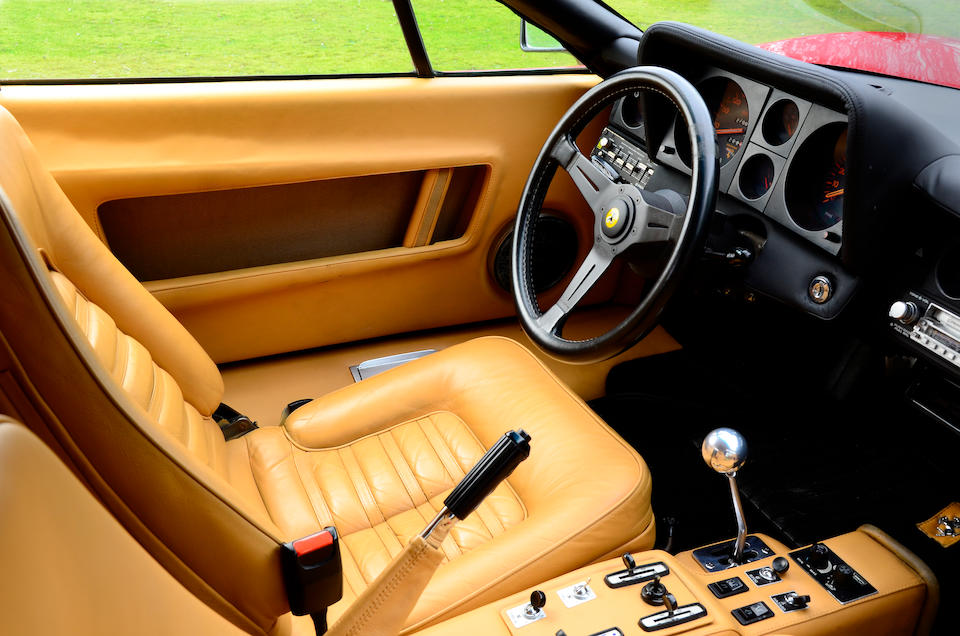 Left-hand drive, 18,000 miles from new,1982 Ferrari 512BBi Coupé  Chassis no. ZFFJA09B000041825