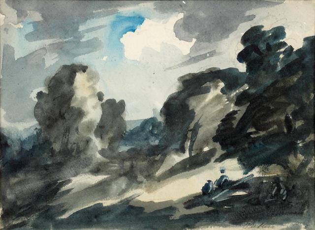 Philip Wilson Steer O.M., N.E.A.C. (British, 1860-1942) Landscape