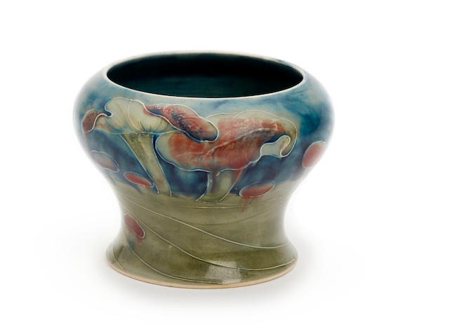 A William Moorcroft for Liberty and Co. 'Claremont' design vase Circa 1910