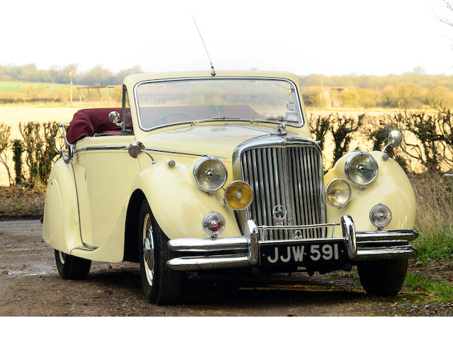 1950 Jaguar MkV 3½-Litre Drophead Coupé  Chassis no. 640391 Engine no. Z5364