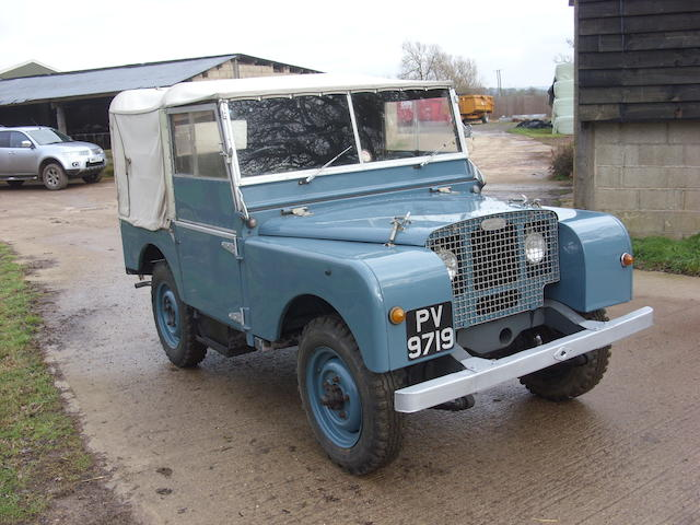 "1949 Land Rover Series I 80"" Pickup with Tilt  Chassis no. R-0610-1664"