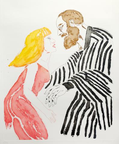 Dame Elisabeth Frink R.A. (British, 1930-1993) 75 x 56cm pl.