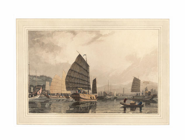DANIELL (THOMAS AND WILLIAM) A Picturesque Voyage to India; by the Way of China, 1810