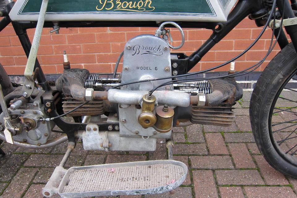 1921 Brough 5hp Model G Frame no. 1352 Engine no. 206