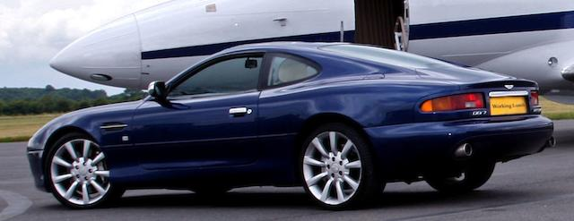 2002 Aston Martin DB7 V12 Vantage Coupé  Chassis no. SCFAB12392K303086 Engine no. AM2/03153