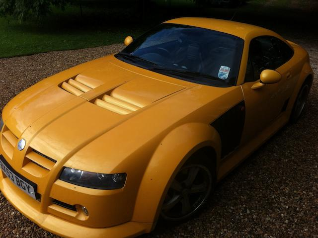 2004 MG XPower SV Coupé  Chassis no. SA9SVGCAB4M130112 Engine no. 88688938