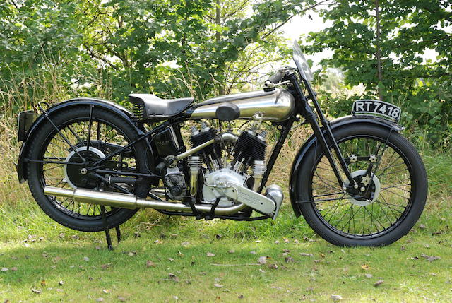 1931 Brough Superior SS80