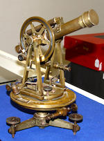 A Continental theodolite by C. Sickler of Karlsruhe, dated 1837
