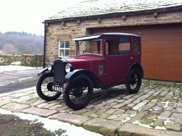 1929 Austin Seven 'Top Hat' Saloon, Chassis no. 75635 Engine no. M141394