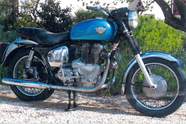 1960 Royal Enfield 495cc Meteor Minor Sports Frame no. 6378 Engine no. EA35033