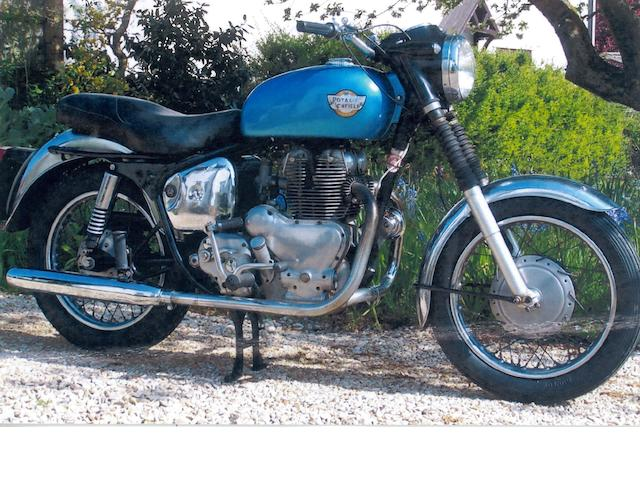 1960 Royal Enfield 500cc Meteor Minor Sport Frame no. 6378 Engine no. EA35033