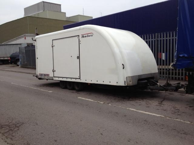 2006 Brian James Motor Shuttle Trailer