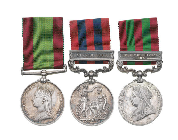 Three to Surgeon Lieutenant Colonel R.N.Stoker, Indian Medical Service,