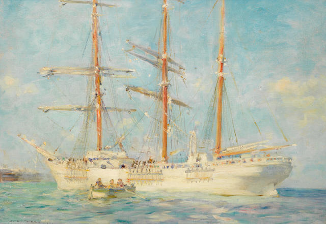 Henry Scott Tuke, RA, RWS (British, 1858-1929) The White Ship