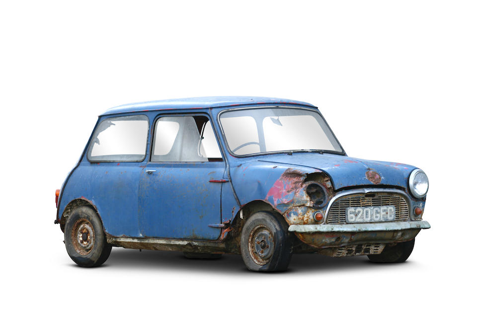 529th Produced,1959 Morris Mini Minor Saloon  Chassis no. M/A2S4/629