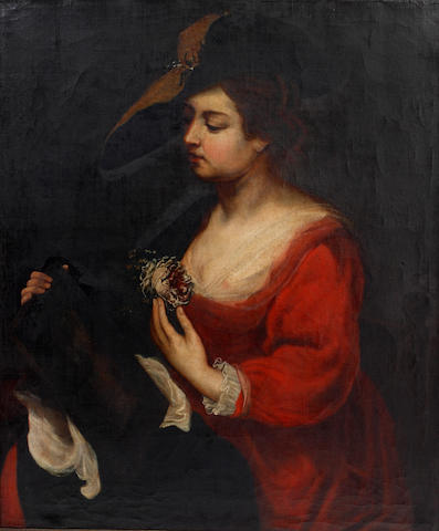 Flemish School, early 19th Century Allegory of Smell