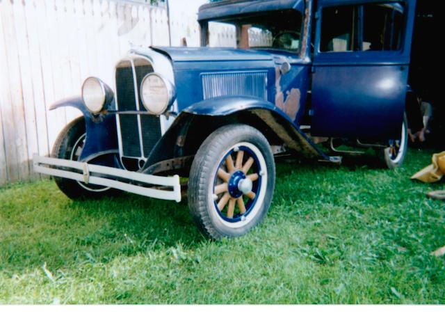 1930 Pontiac Big Six Sedan Project  Chassis no. 596976P