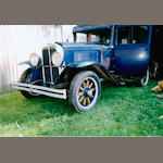 1930 Pontiac Big Six Sedan Project  Chassis no. 596976P