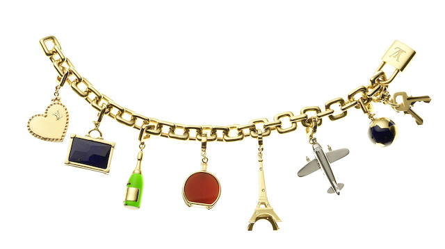 A charm bracelet, by Louis Vuitton (8)