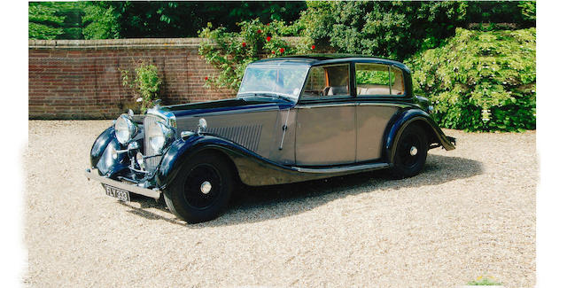 1939 Bentley 4¼-Litre 'High Vision' Sports Saloon  Chassis no. B148MR Engine no. 74BP