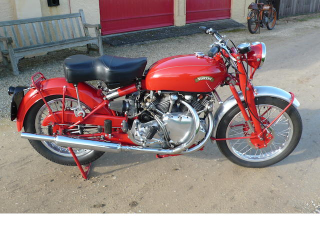 1949 Vincent 'Red Rapide'