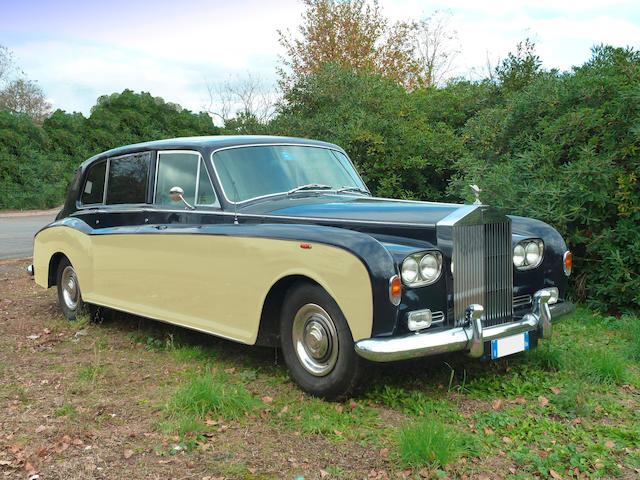 Two owners, 64,000 miles from new,1970 Rolls-Royce Phantom VI Limousine H J Mulliner, Park Ward  Chassis no. PRH4606 Engine no. 4606