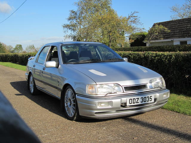 54,000 miles from new,1991 Ford Sapphire RS Cosworth 4x4 Saloon   Chassis no. WFOFXXGBBFME74916 Engine no. ME74916