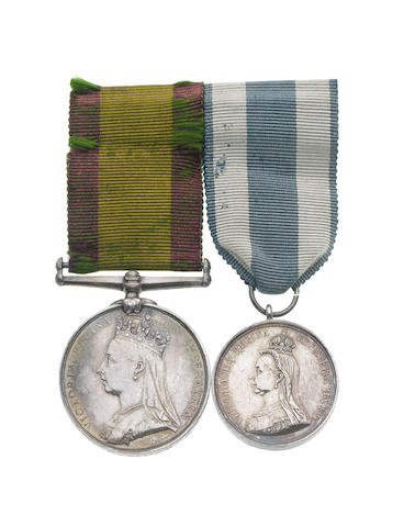 Pair to Deputy Director-General H.S.Muir, Army Medical Department,