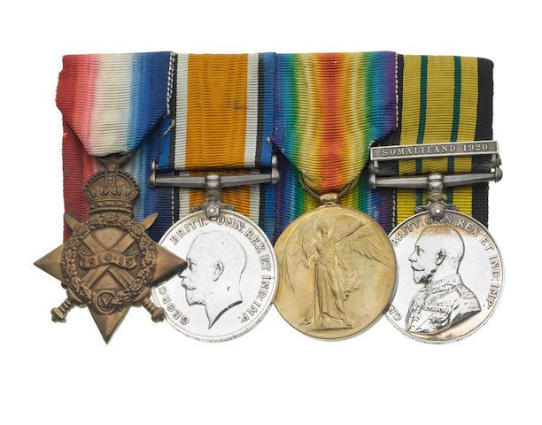 Four to Surgeon Lieutenant S.R.Johnston, Royal Navy,