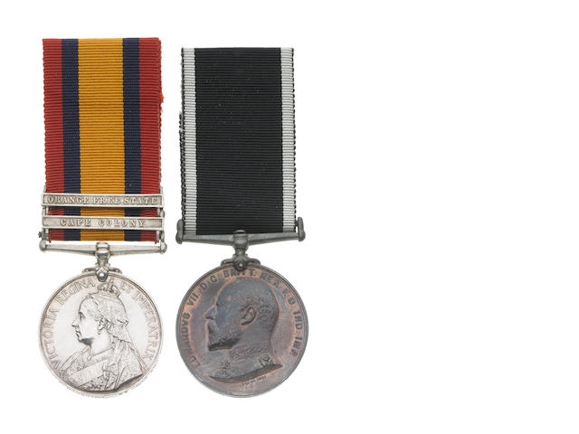 Pair to Private E.Houghton, St.John Ambulance Brigade,