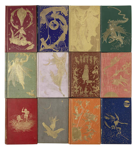 LANG (ANDREW) COMPLETE SET OF THE FAIRY BOOKS, 12 vol., 1889-1910
