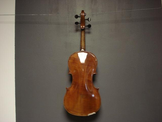 A 18th century copy of a French violin