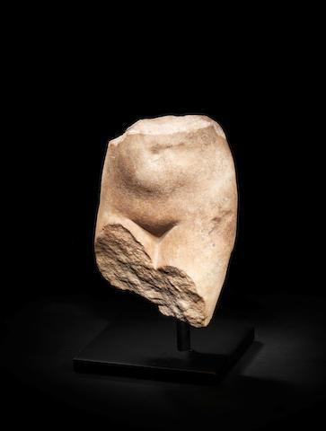A Roman marble fragmentary torso of Aphrodite