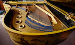 A Bluthner boudoir grand pianoforte