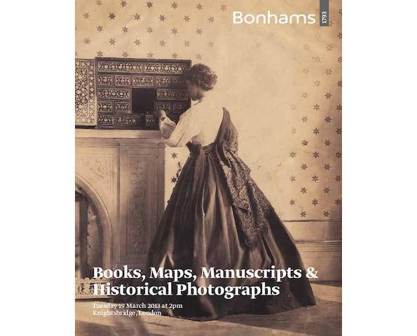 Books, Maps, Manuscripts & Historical Photographs