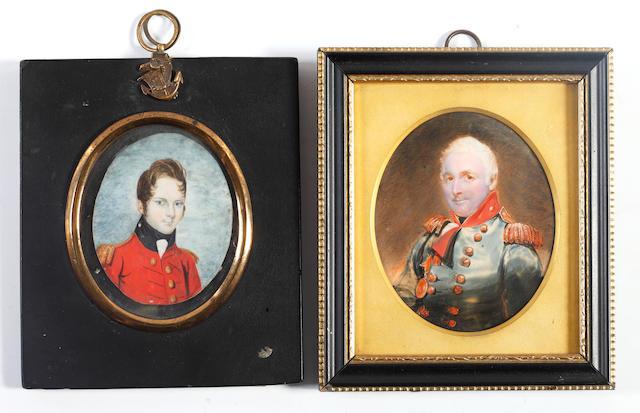Attributed to Sir Fredrick William Burton, Colonel William Minto, Royal Marine Artillery