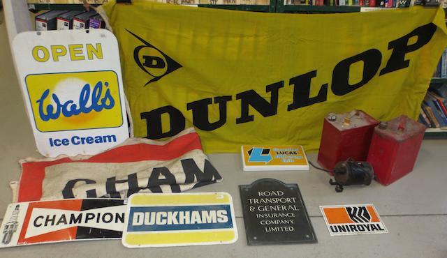 A Dunlop flag,