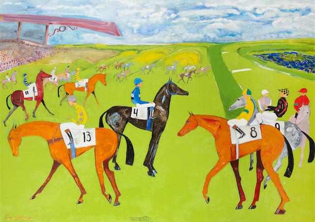 Elie Lambert (French, born 1949) Welsh National, 2011