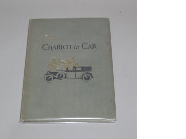 Robert J Priest: From Chariot to Car,