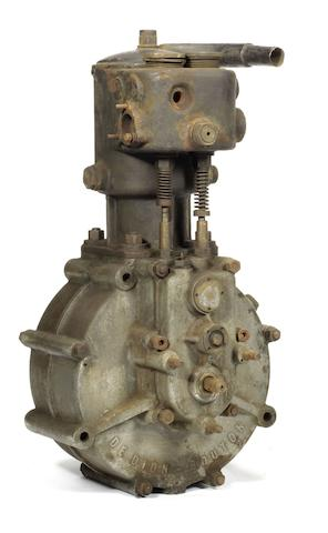 A De Dion Bouton single-cylinder engine, circa 1905,