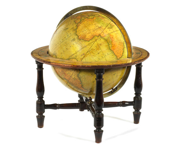 A G&J Cary 12-inch terrestrial table globe English Published 1831