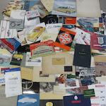 A quantity of sales brochures for various marques,