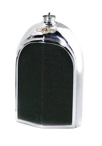 A Bentley radiator decanter by Ruddspeed, British, 1950s,