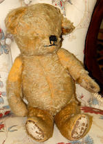 A Merrythought teddy bear