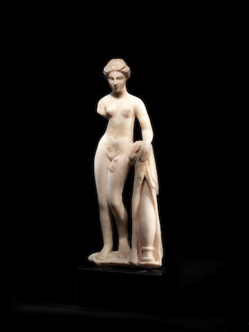 A Roman marble statue of Aphrodite Pudica