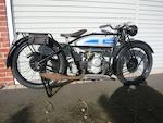 1927 Douglas 347cc EW Frame no. F4535 Engine no. E.17219